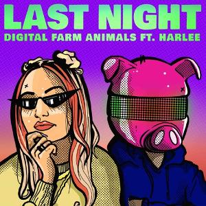 Digital Farm Animals Links Up With HARLEE For New Single 'Last Night'