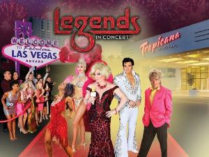 Las Vegas' Longest Running Show LEGENDS IN CONCERT Resumes Performances At Tropicana Las Vegas May 27