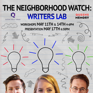 What Will the Neighbors Say? to Revive NEIGHBORHOOD WATCH DIGITAL ARTS SERIES