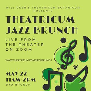 Enjoy Jazz Live From Theatricum In The Comfort Of Your Home withBYOBrunch
