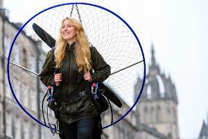 Sacha Dench Visits Edinburgh Ahead Of Her Appearance at Edinburgh Science Festival