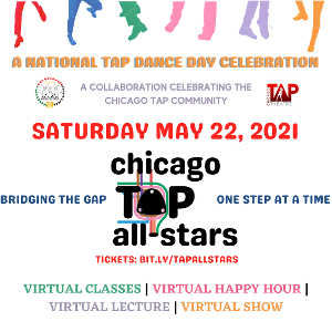 Celebrate National Tap Dance Day With M.A.D.D. Rhythms And Chicago Tap Theatre