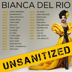 Bianca Del Rio UNSANITIZED Comedy Tour Announced, Tickets On Sale This Friday