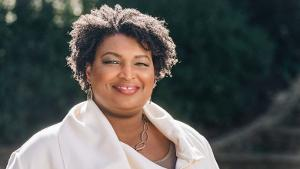 A CONVERSATION WITH STACEY ABRAMS Announced at King's Theatre, October 26