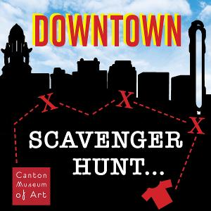 Downtown Canton Scavenger Hunt Starts June's First Friday At CMA!