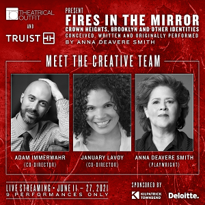 Theatrical Outfit to Present Livestream of FIRES IN THE MIRROR