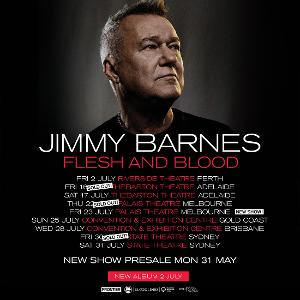 Jimmy Barnes Adds Second And Final Melbourne Show To National Tour