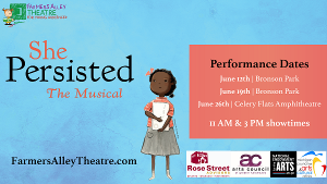Farmers Alley Theatre Presents SHE PERSISTED, THE MUSICAL