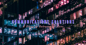 Theater 29 Presents COMMUNICATIONS SOLUTIONS: A Story Of Extravagant Love, Premiering in July