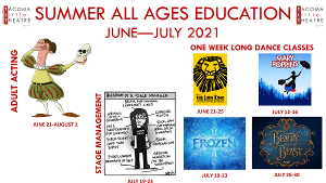 Tacoma Little Theatre Adult and Youth Summer Classes Are Enrolling Now