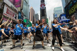 TAP IT OUT Returns to Times Square This July