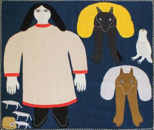 Textile Museum Of Canada and Toronto Biennial Of Art Present Inuit Art Exhibition