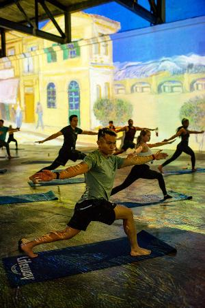 Immersive Yoga Now Offered At IMMERSIVE VAN GOGH San Francisco