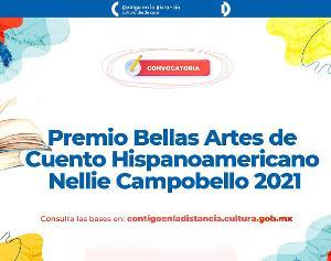 Convocan A Escritoras De América Latina Y España Al Premio Bellas Artes De Cuento Hispanoamericano Nellie Campobello 2021
