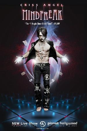 CRISS ANGEL MINDFREAK - THE IMMERSIVE VISUAL SPECTACULAR - to Return to Planet Hollywood