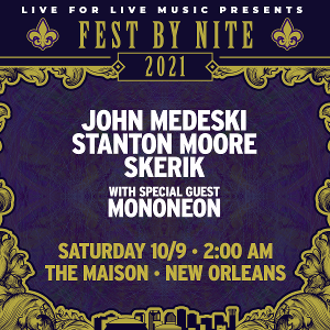THE FUNK SESSIONS NOLA EDITION Announced Today