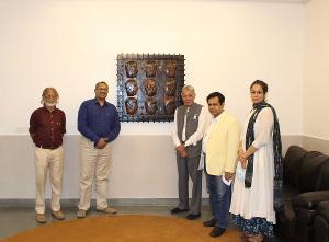 World University Of Design Hosts Artwork Presentation By Artist Naresh Kapuria