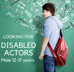The British Theatre Academy Seeks Young Disabled Actors To Play Archie in 13