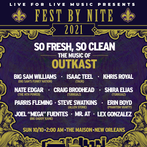 OutKast Tribute Sets NOLA Late-Night Show During Jazz Fest