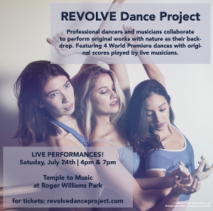 REVOLVE Dance Project Launches InauguralPerformance At Temple Of Music, Roger Williams Park