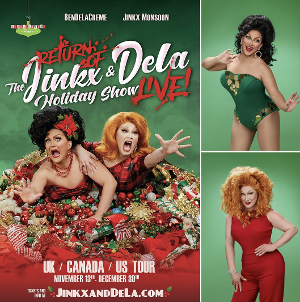 BenDeLaCreme and Jinkx Monsoon Announce UK Dates For Their Holiday Show