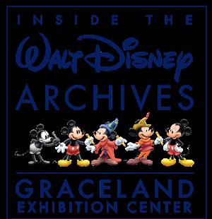 Go INSIDE THE WALT DISNEY ARCHIVES at Graceland Exhibition Center