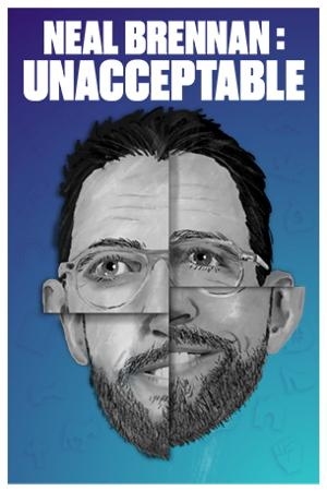 NEAL BRENNAN: UNACCEPTABLELimited Engagement Begins August 25 At The Cherry Lane Theatre