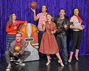 Cortland Repertory Theatre Presents GOIN' TO THE CHAPEL