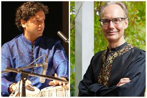Michael Harrison Performs Indian Ragas and Compositions for Piano and Tabla With Nitin Mitta