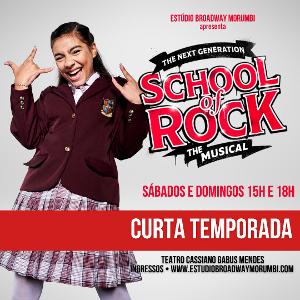 Larissa Cavalante Dá Vida A Summer Em SCHOOL OF ROCK