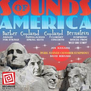 David Bernard and the Park Avenue Chamber Symphony Release 'Sounds Of America', September 10