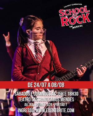 Sofia Dinato Dá Vida A Guitarrista Zoe Em SCHOOL OF ROCK