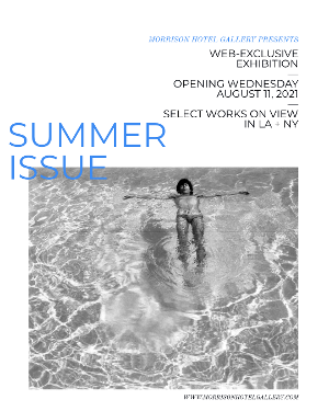 Morrison Hotel Gallery Sizzles With SUMMER ISSUE