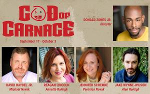 GOD OF CARNAGE To Open JPAS 44th Season