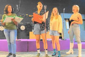 THE MARVELOUS WONDERETTES Will Be Performed by Possum Point Players Next Month