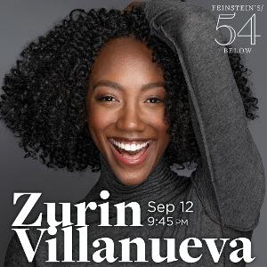 Zurin Villanueva Will Bring LITTLE LOVE NOTE to Feinstein's/54 Below Next Month