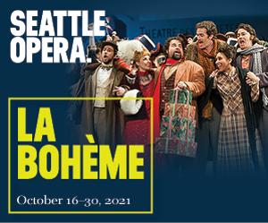 Seattle Opera Returns To McCaw Hall With Puccini's LA BOHÈME