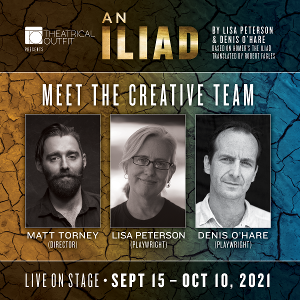 Theatrical Outfit Presents AN ILIAD by Lisa Peterson and Denis O'Hare