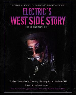 ELECTRIC'S WEST SIDE STORY (ON THE LOWER EAST SIDE)to Begin Performances at Theater for the New City in October
