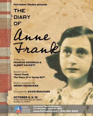 Casting Announced for Fort Salem Theater's THE DIARY OF ANNE FRANK
