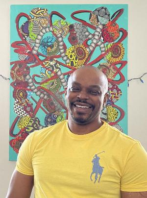 Mixed-Media Artist Comments On Covid-19 and Social Justice In New Exhibit