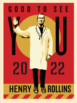 Henry Rollins Is Coming To Playhouse Square