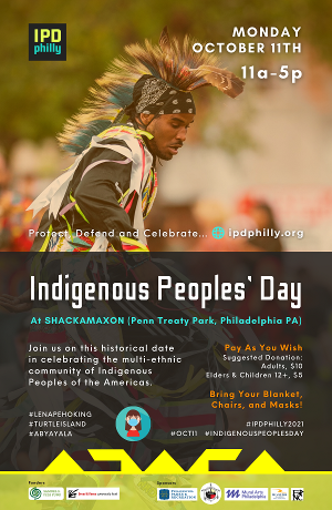 Indigenous Peoples' Day, Philly 2021 Will Take Place On October 11