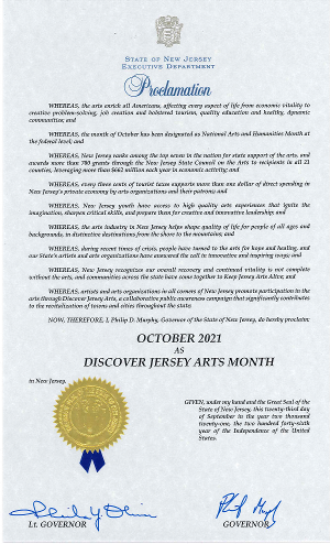 New Jersey Celebrates Discover Jersey Arts Month With Resurgence Of Live Entertainment