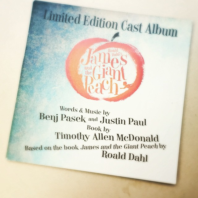 James And The Giant Peach Studio Cast Cd 2015