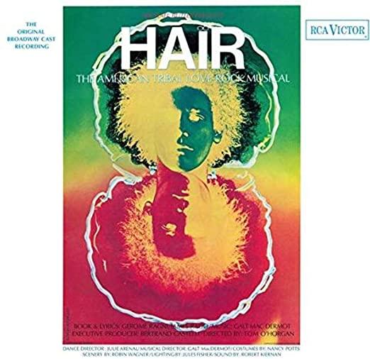 Hair OBC vinyl Album
