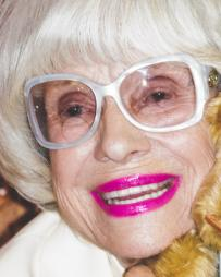 Carol Channing Headshot