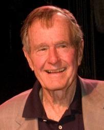 George Bush Headshot