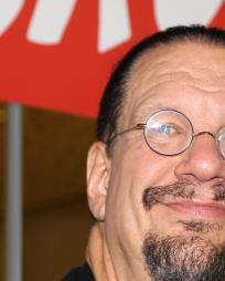 Penn Jillette Headshot