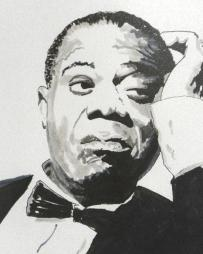 Louis Armstrong Headshot